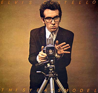 "Thumbnail of ELVIS COSTELLO - This Years Model 12"" Vinyl LP Album  album front cover"