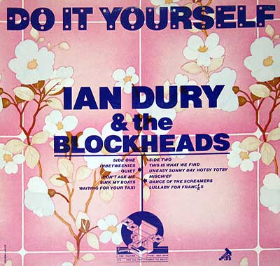 "Thumbnail of IAN DURY & THE BLOCKHEADS - Do It Yourself Pink Cover 12"" Vinyl LP Album album front cover"