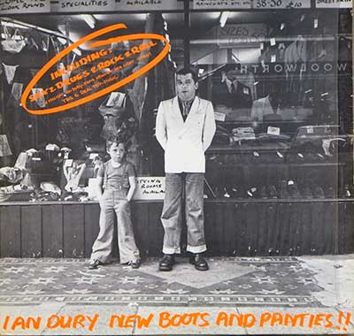 "Thumbnail of IAN DURY - New Boots and Panties!!! German Release 12"" Vinyl LP Album album front cover"