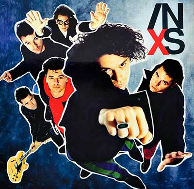 Thumbnail of INXS - X album front cover