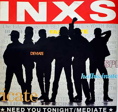 Thumbnail of INXS - Need You Tonight  album front cover