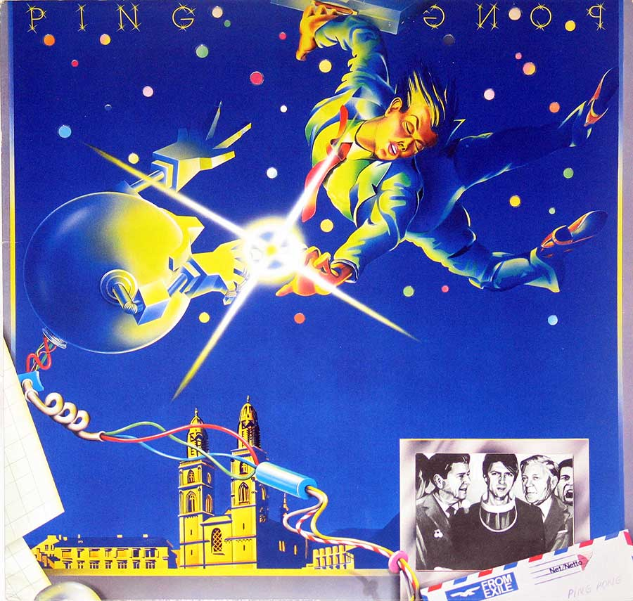 large photo of the album front cover of: Ping Pong