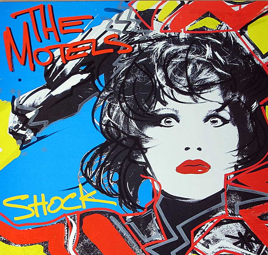 Front Cover Photo Of MOTELS - Shock