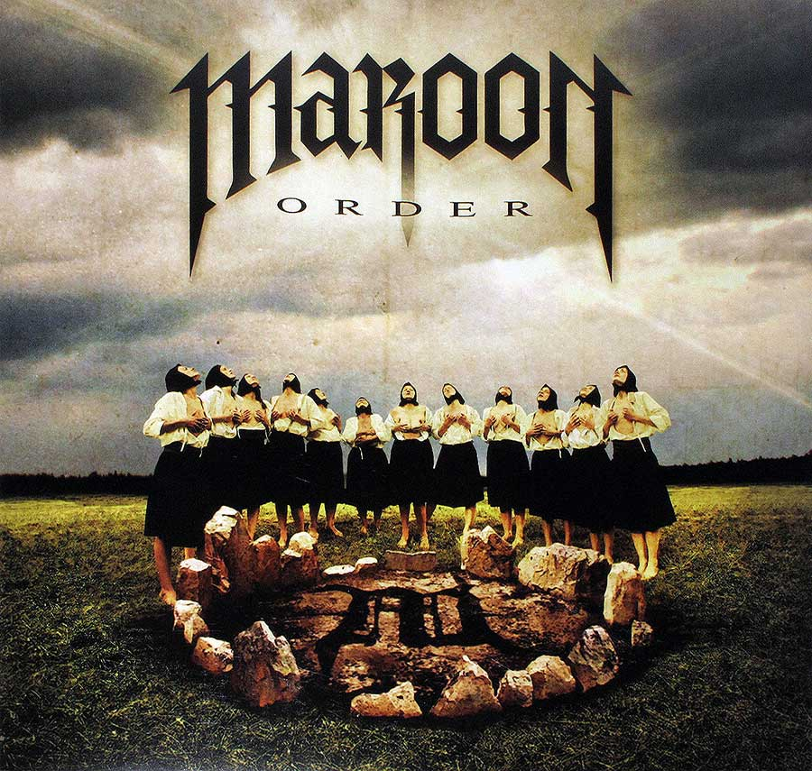 Album Front Cover Photo of MAROON - Order
