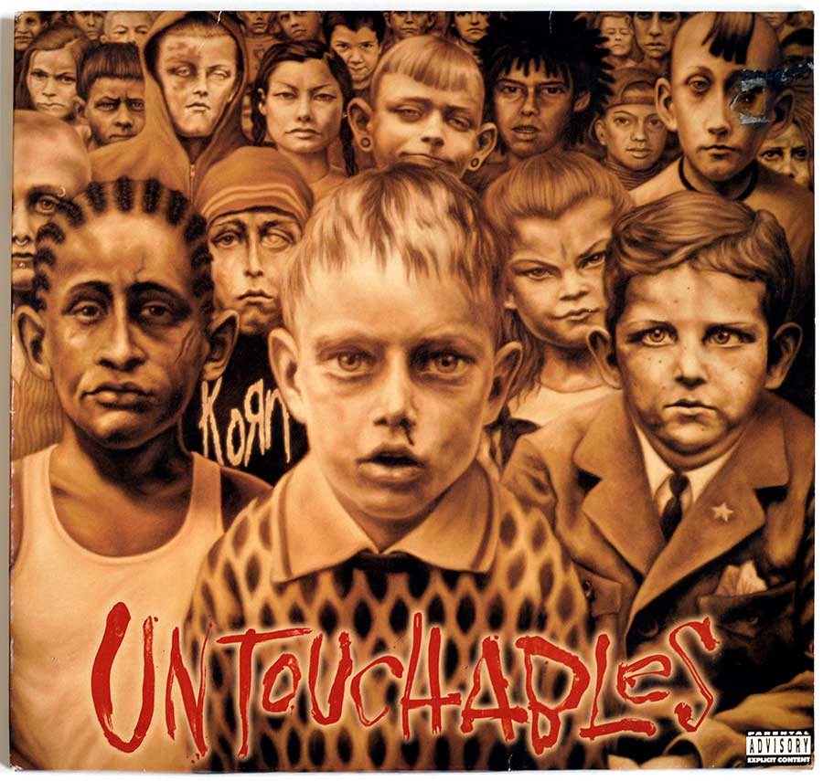 "High Quality Photo of Album Front Cover  ""KORN - Untouchables 2LP"""