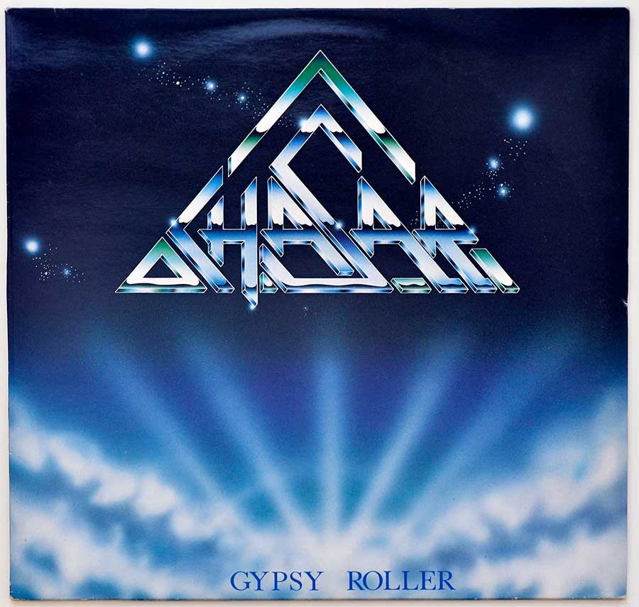 "Front Cover Photo Of CHASAR - Gypsy Roller Scottish Heavy Metal NWOBHM Scotland 1987 12"" Vinyl LP"