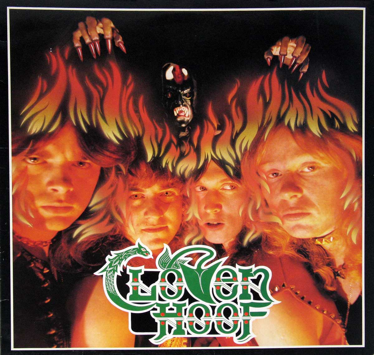 large photo of the album front cover of: CLOVEN HOOF - Self-Titled