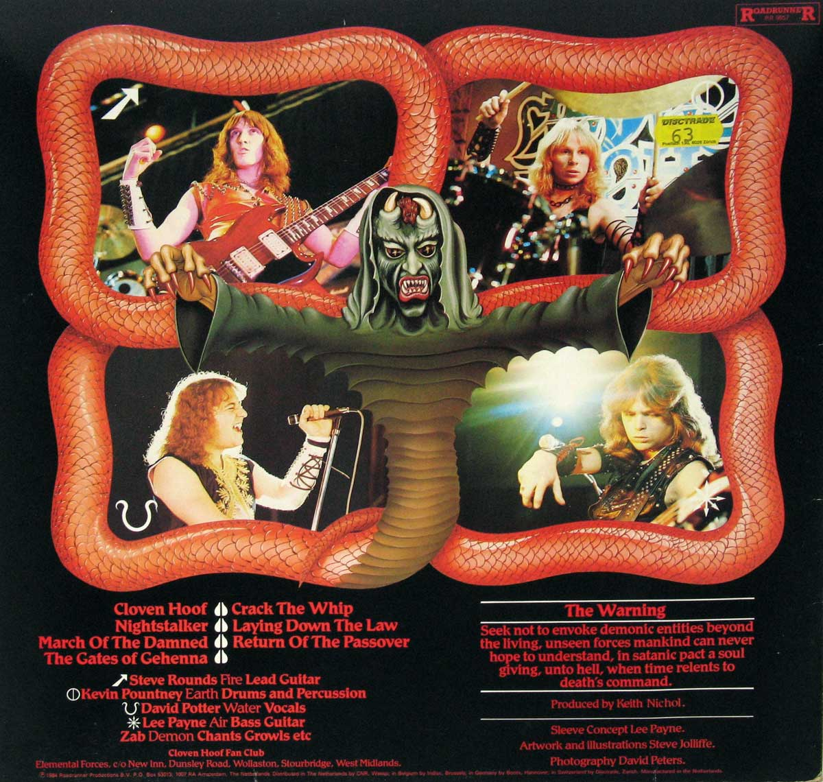 High Resolution Photo Album Back Cover of CLOVEN HOOF Self-Titled https://vinyl-records.nl