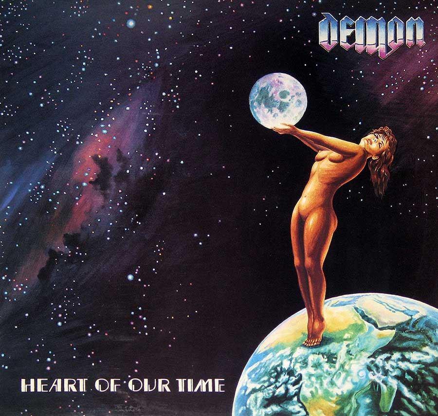 Album Front Cover Photo of DEMON - Heart of Our Time