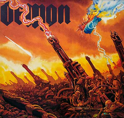 Thumbnail Of  DEMON - Taking the World by Storm album front cover