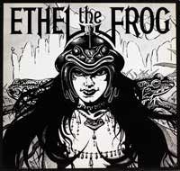ETHEL THE FROG - S/T Self-Titled  was a heavy metal band formed in 1976 in Hull, England. They are notable for being a part of the New Wave of British Heavy Metal movement. The band's unusual name was taken from a Monty Pyth