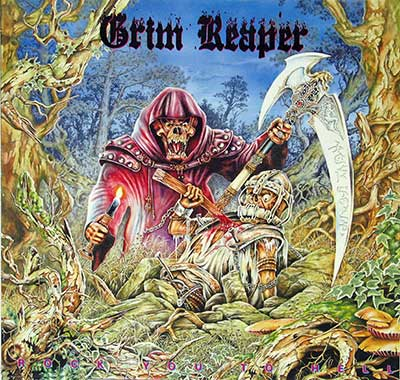 Thumbnail Of  GRIM REAPER - Rock You to Hell ( Germany ) album front cover