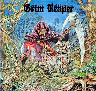 Thumbnail Of  GRIM REAPER - Rock You to Hell ( USA ) album front cover