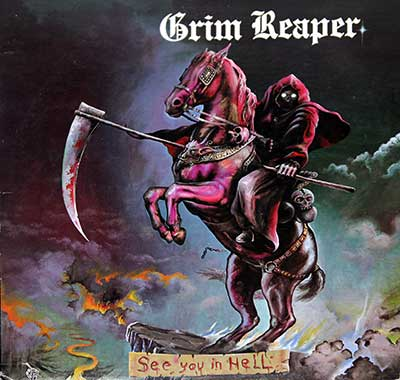 Picture Of  GRIM REAPER - See You In Hell album front cover
