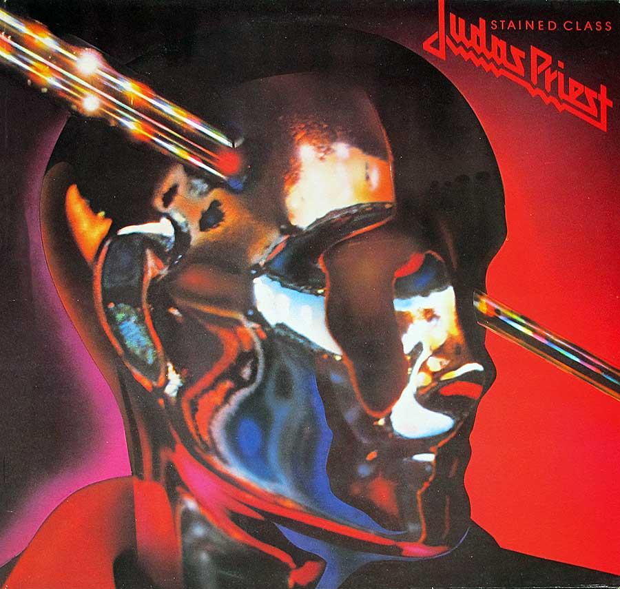 "Front Cover Photo Of JUDAS PRIEST - Stained Class 12"" Vinyl LP Album"
