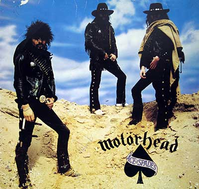 "Thumbnail of MOTORHEAD - Ace Of Spades 12"" Vinyl LP album front cover"