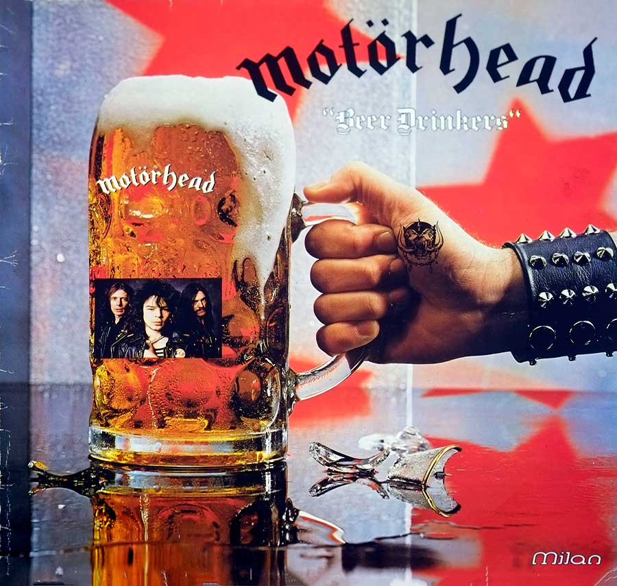 Album Front Cover Photo of MOTORHEAD - Beer Drinkers - British Heavy Metal