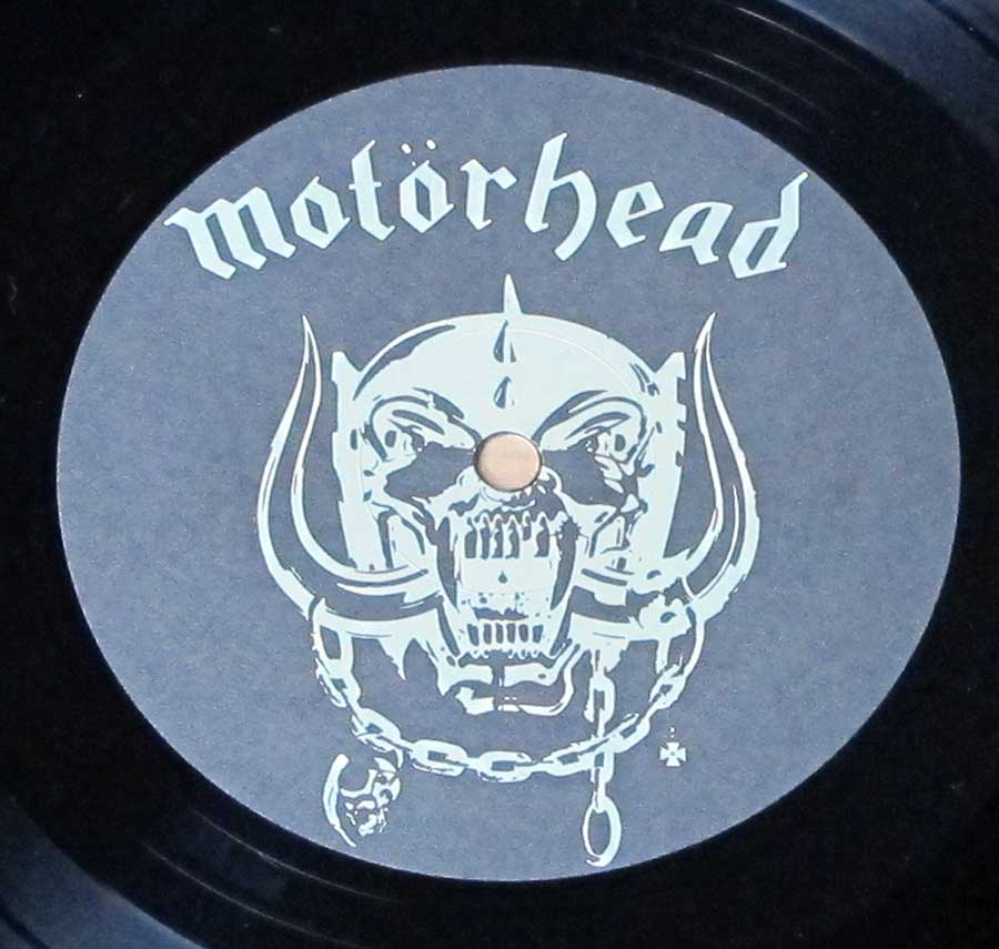 Close up of Side One MOTORHEAD - Iron Fist ( British Heavy Metal )