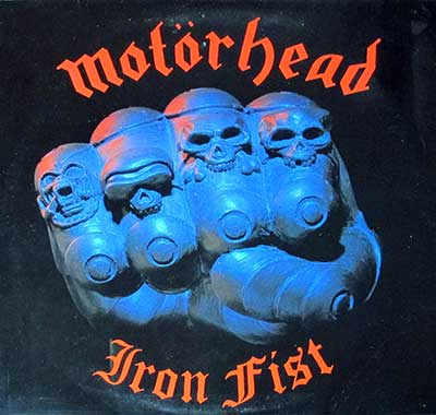 "Thumbnail of MOTORHEAD - Iron Fist 12"" Vinyl LP album front cover"