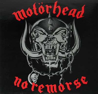 "Thumbnail of MOTORHEAD - No Remorse 12"" Vinyl LP album front cover"