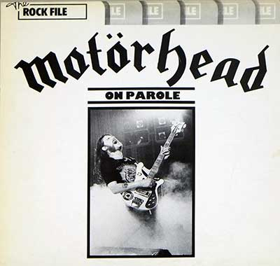 "Thumbnail of MOTORHEAD - On Parole 12"" Vinyl LP album front cover"