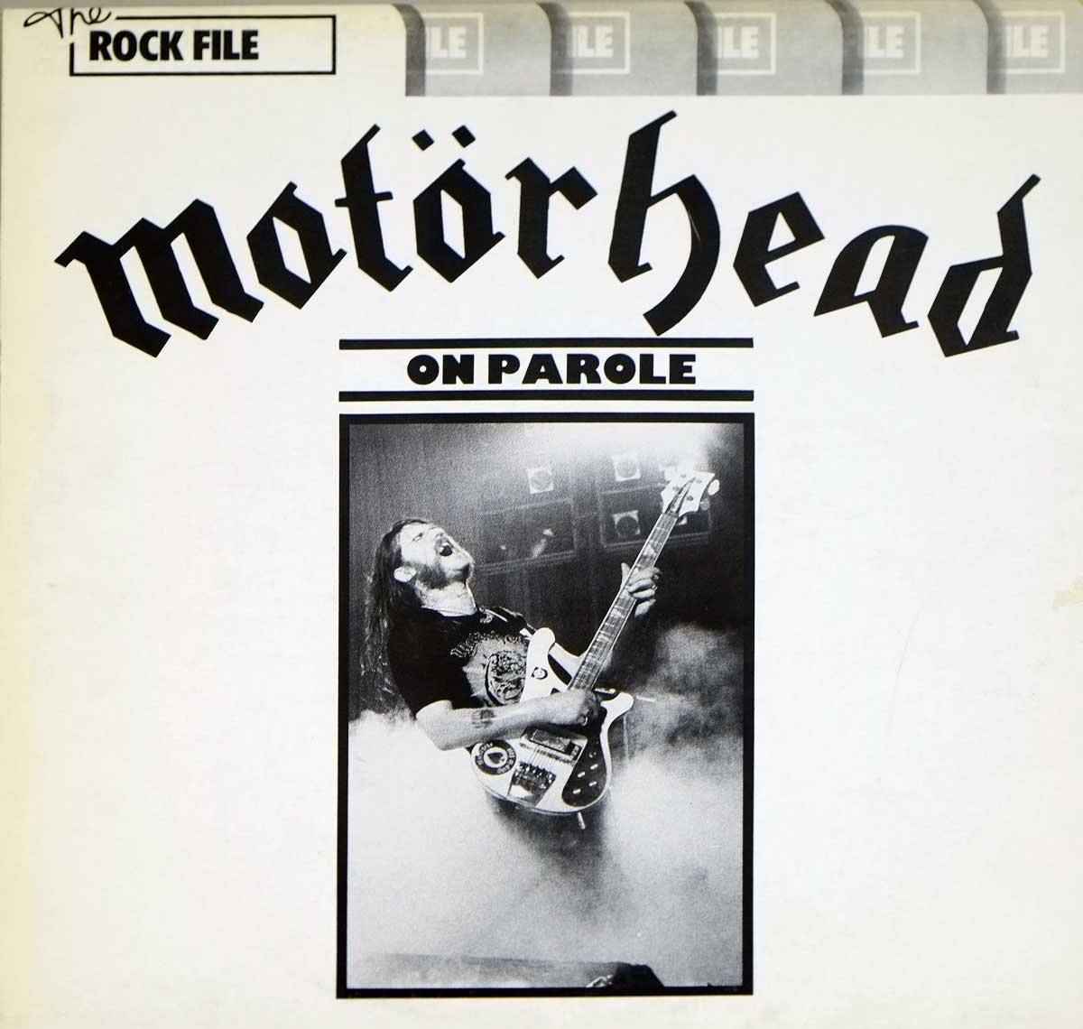 Album Front Cover Photo of MOTORHEAD - On Parole ( British Heavy Metal )