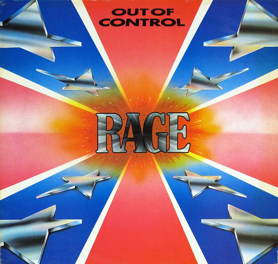 Front Cover Photo Of RAGE - Out of Control
