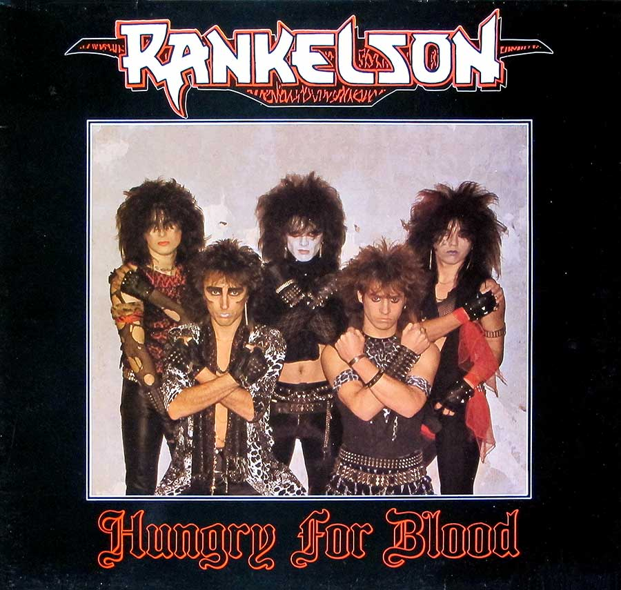 Front Cover Photo Of RANKELSON - Hungry For Blood