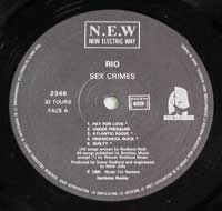 RIO - Sex Crimes N.E.W.