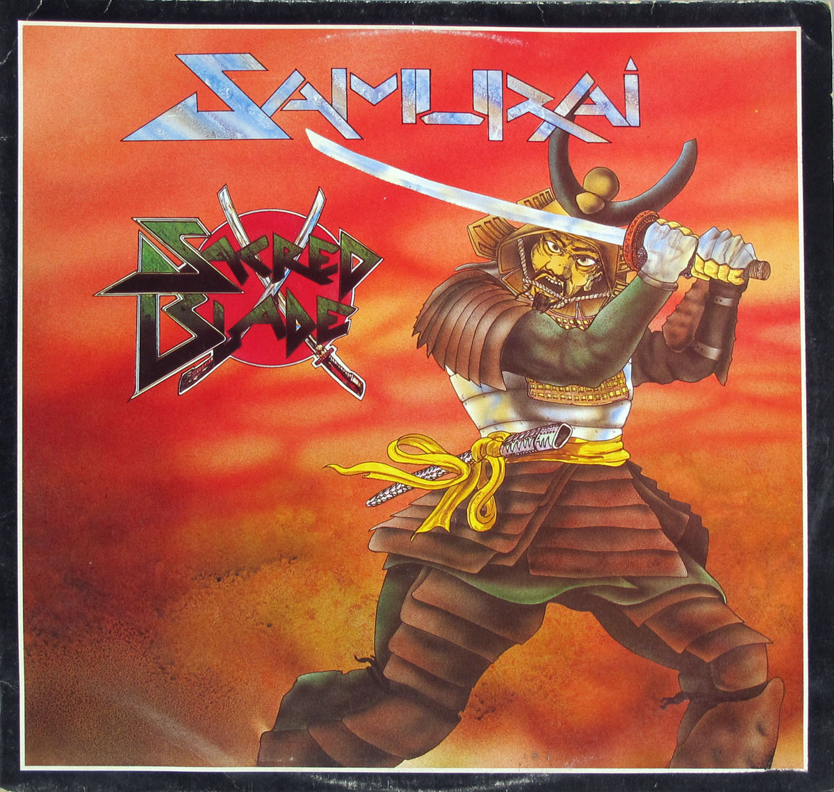 High Resolution Photo samurai sacred blade uk nwobhm