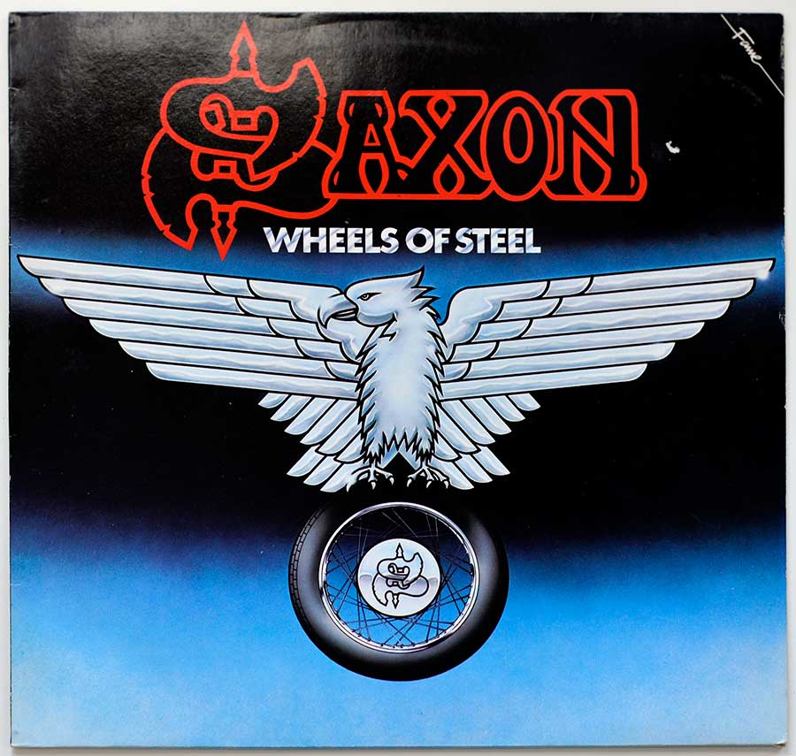 Large Album Front Cover Photo of SAXON  - Wheels Of Steel - Germany / Holland Release