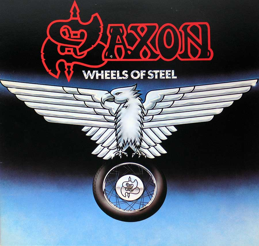 Front Cover Photo Of SAXON - Wheels Of Steel ( USA Release )