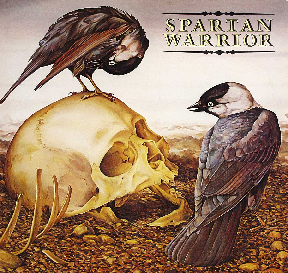 large photo of the album front cover of: SPARTAN WARRIOR - S/T Self-Titled