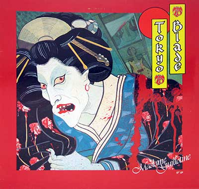 Thumbnail Of  TOKYO BLADE - Madame Guillotine album front cover