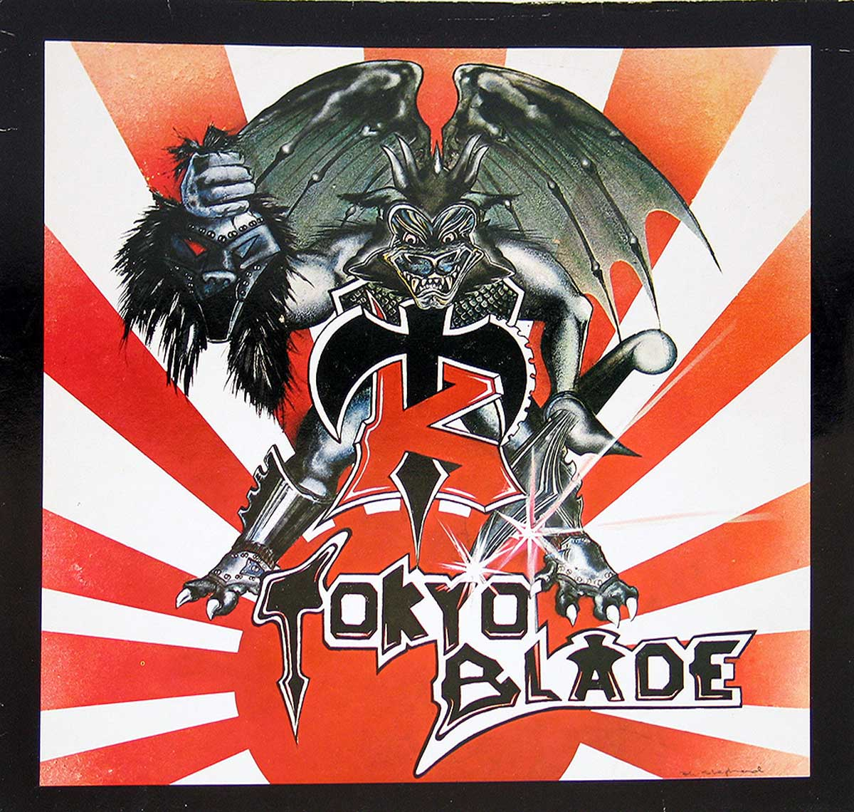 large photo of the album front cover of: Tokyo Blade