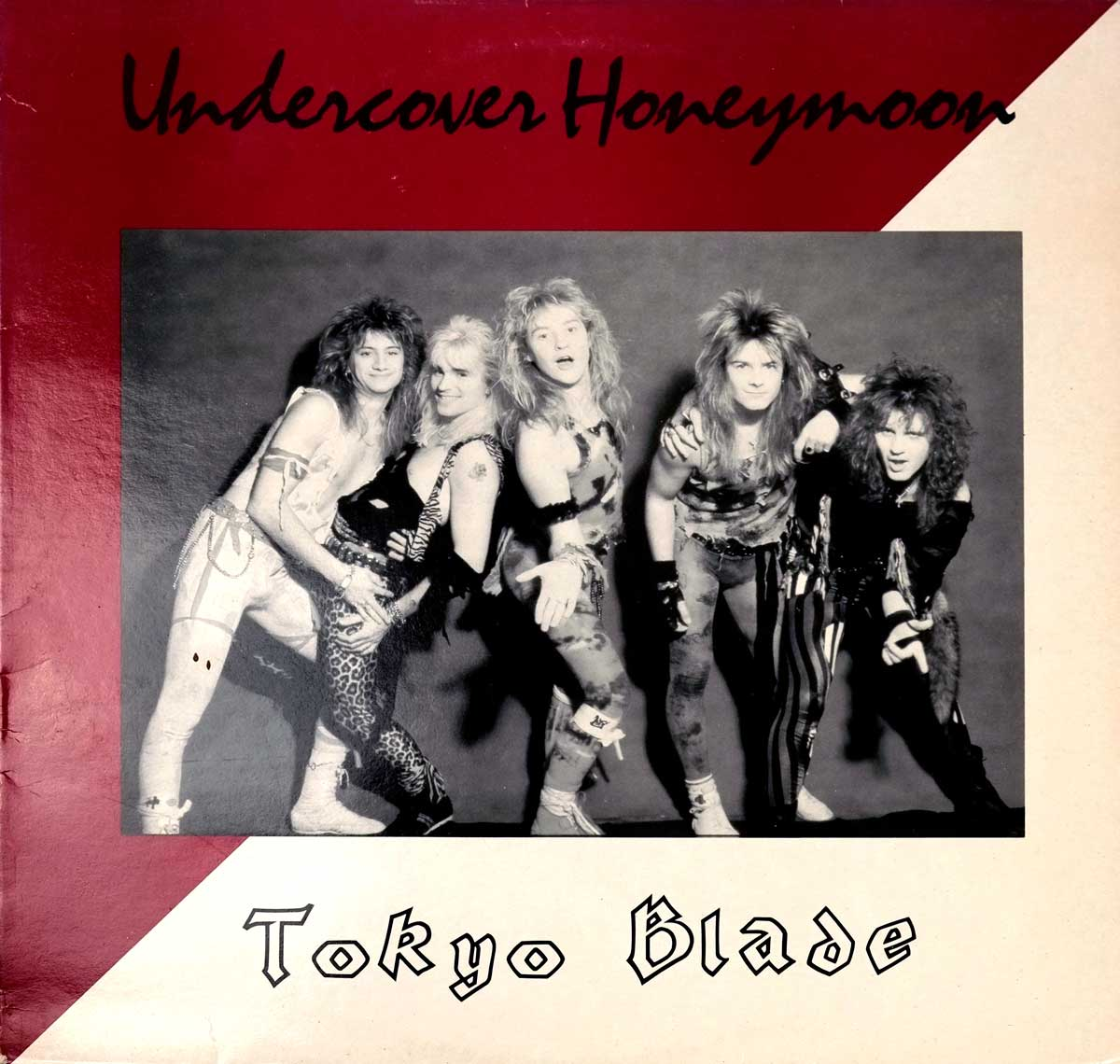 Front Cover Photo Of TOKYO BLADE - Undercover Honeymoon