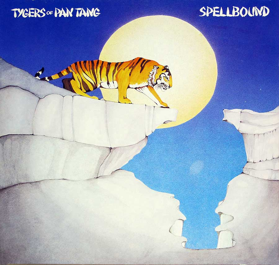 Front Cover Photo Of TYGERS of PAN TANG - Spellbound