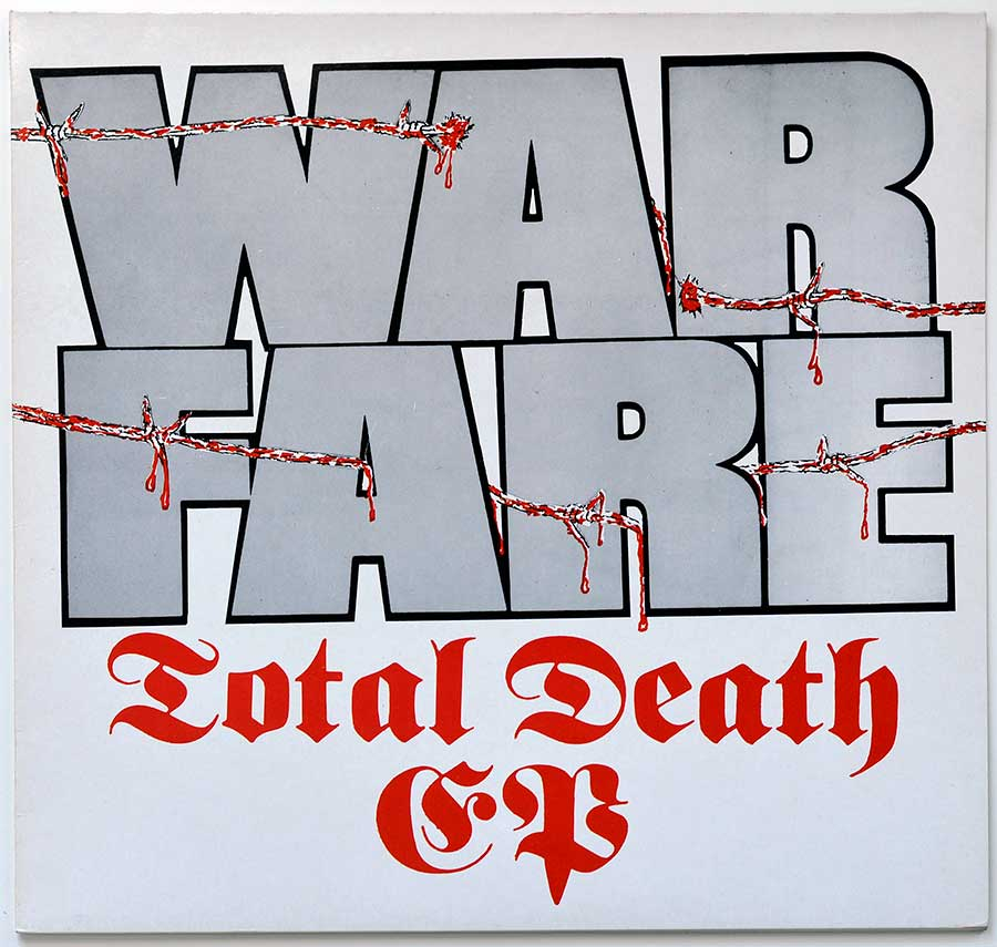"High Quality Photo of Album Front Cover  ""WARFARE Total Death"""