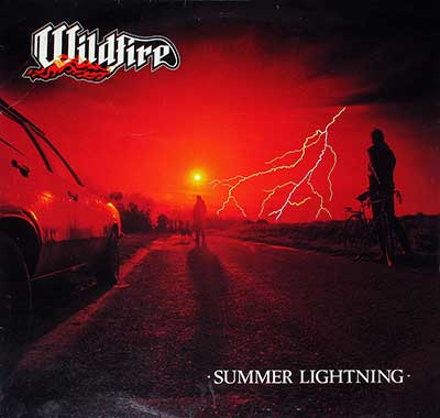 "Picture Of WILDFIRE - Summer Lightning NWOBHM 12"" LP album front cover"