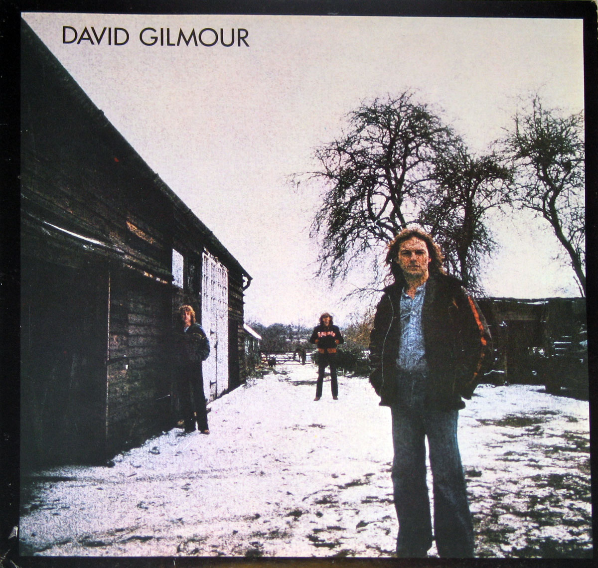 High Resolution Photo #1 DAVID GILMOUR self-titled Gatefold