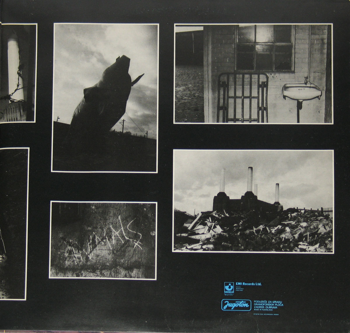 High Resolution Photo #4 PINK FLOYD Animals Yugoslavia