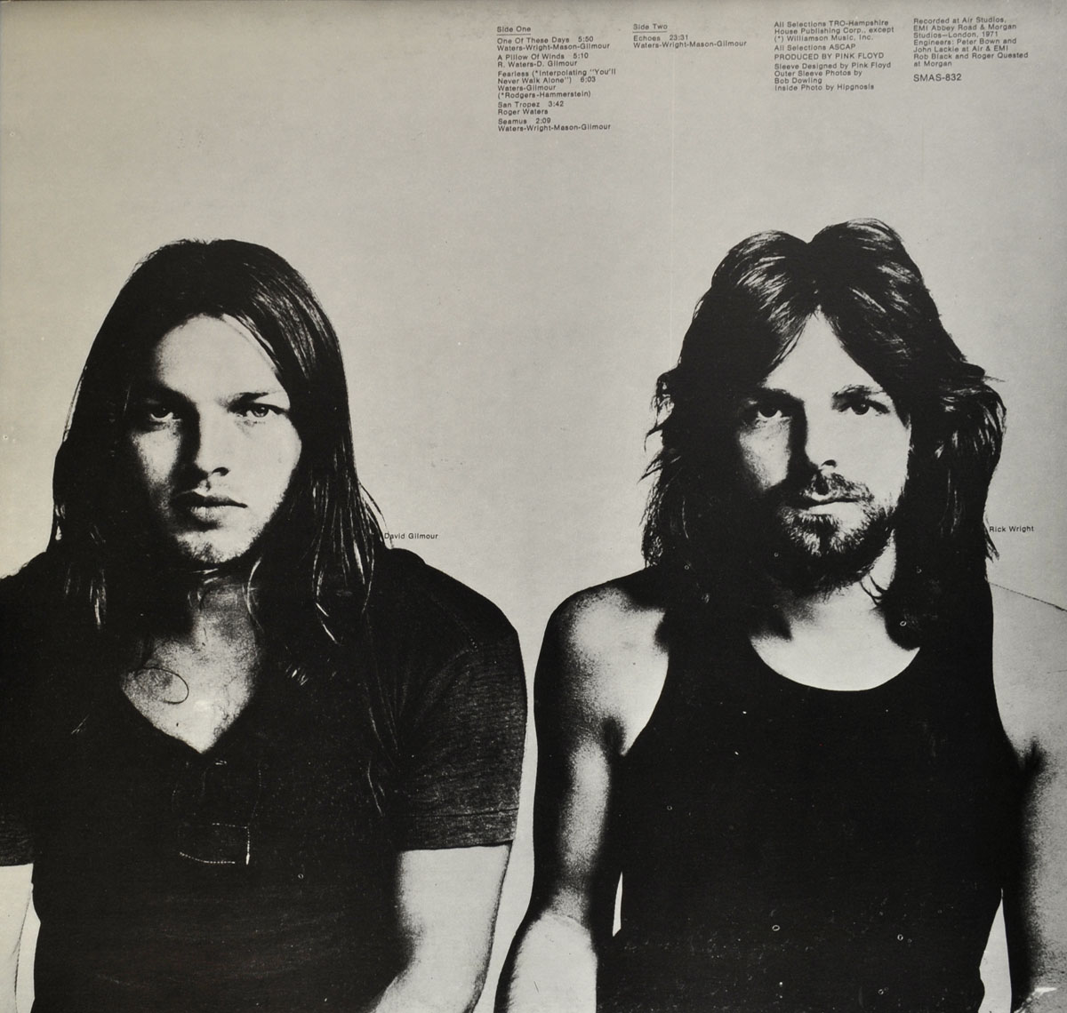 High Resolution Photo #4 PINK FLOYD Meddle Canada