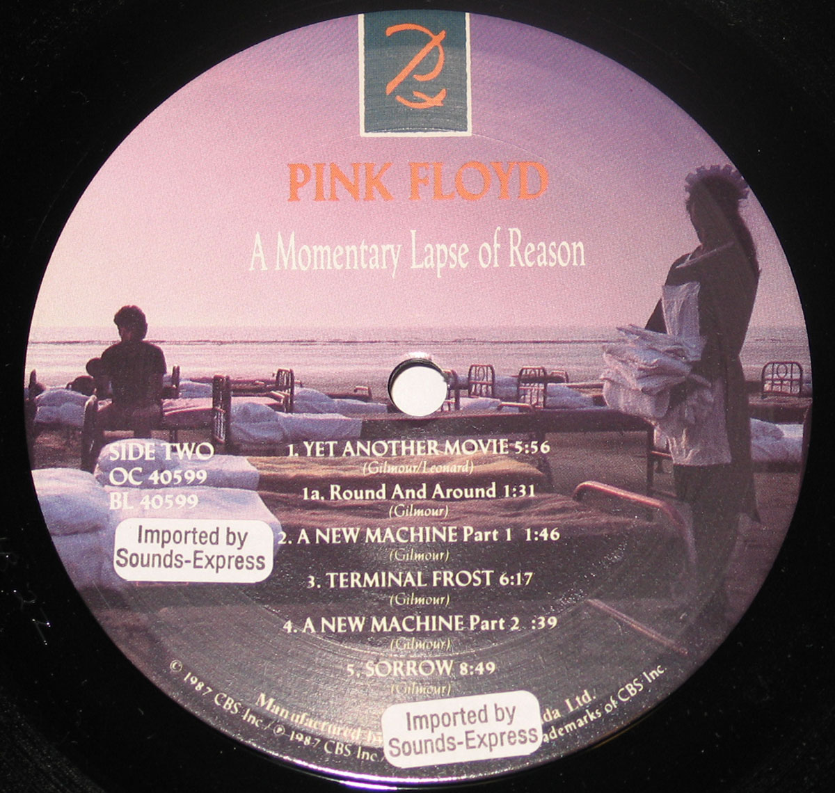High Resolution Photo #4 PINK FLOYD Momentary Lapse Canada
