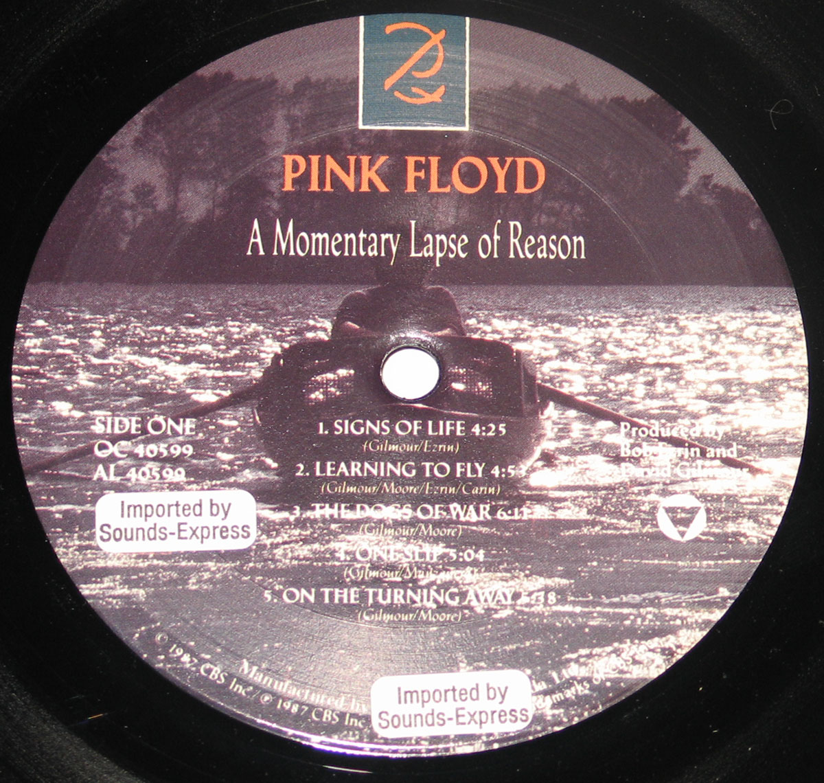 High Resolution Photo #5 PINK FLOYD Momentary Lapse Canada