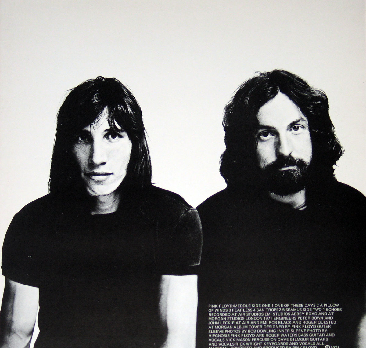 High Resolution Photo Pink Floyd Meddle France