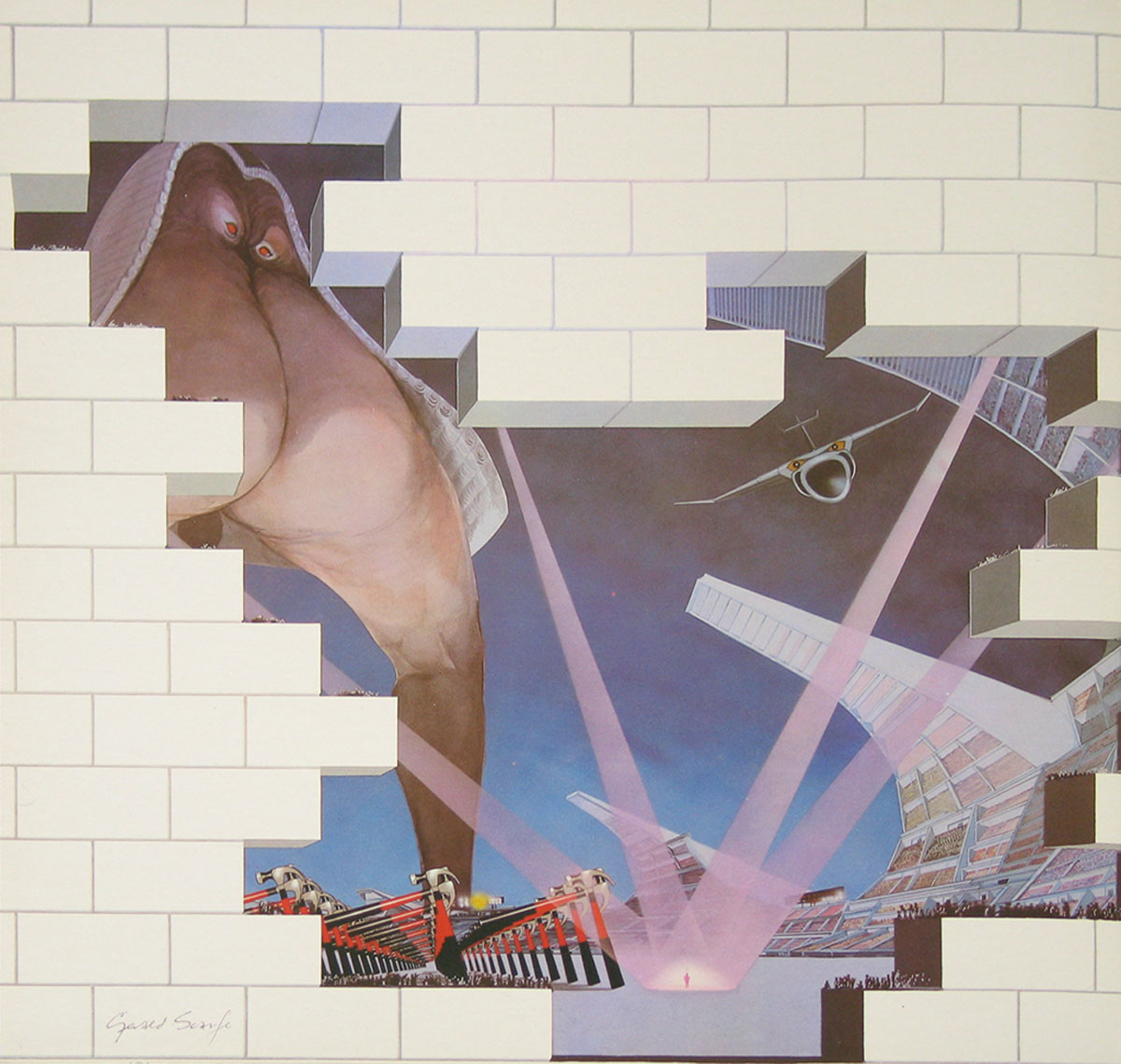 High Resolution Photo #2 PINK FLOYD Wall France