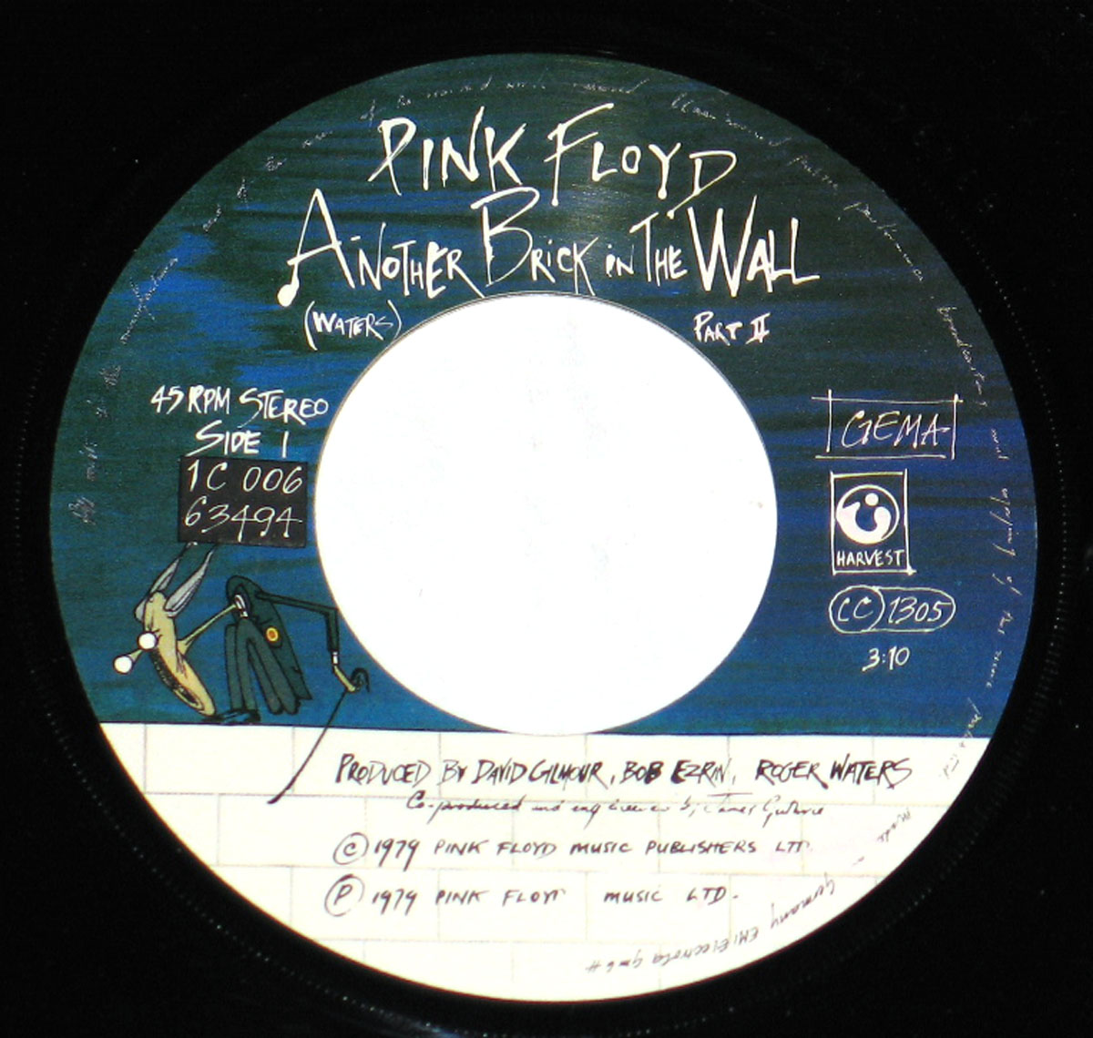 High Resolution Photo #2 PINK FLOYD Wall Part II