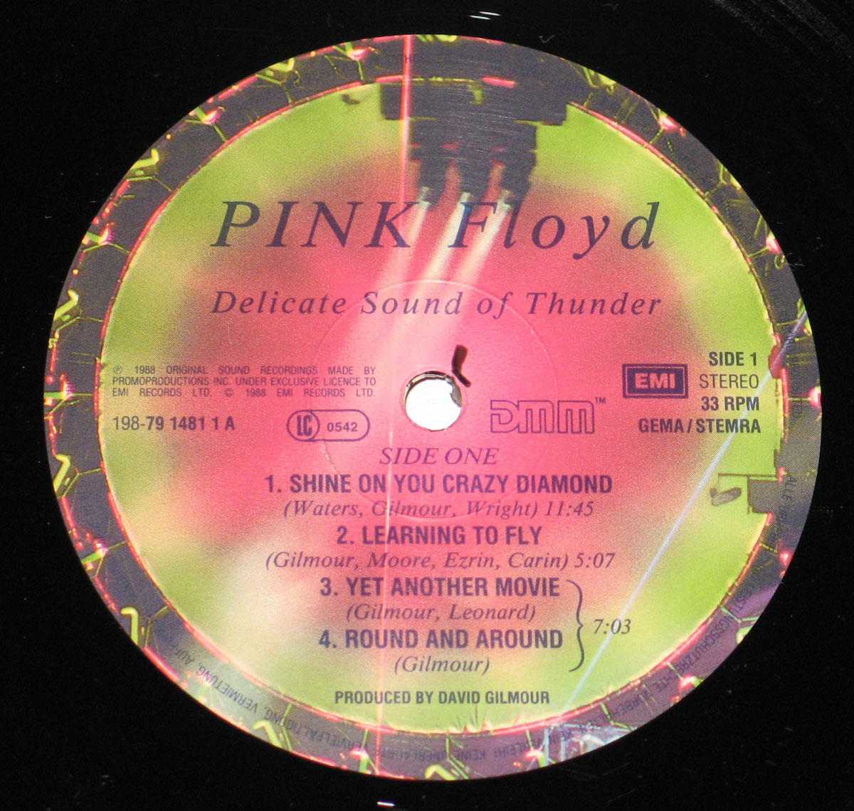 High Resolution Photo #4 PINK FLOYD Delicate Sound Germany