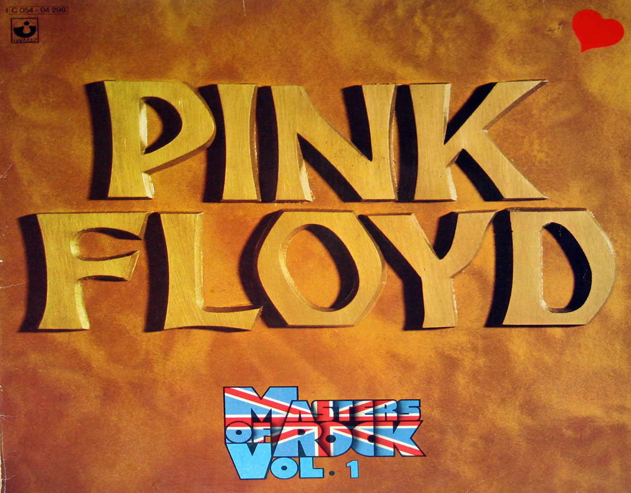 Album Front Cover Photo of PINK FLOYD Masters Of Rock