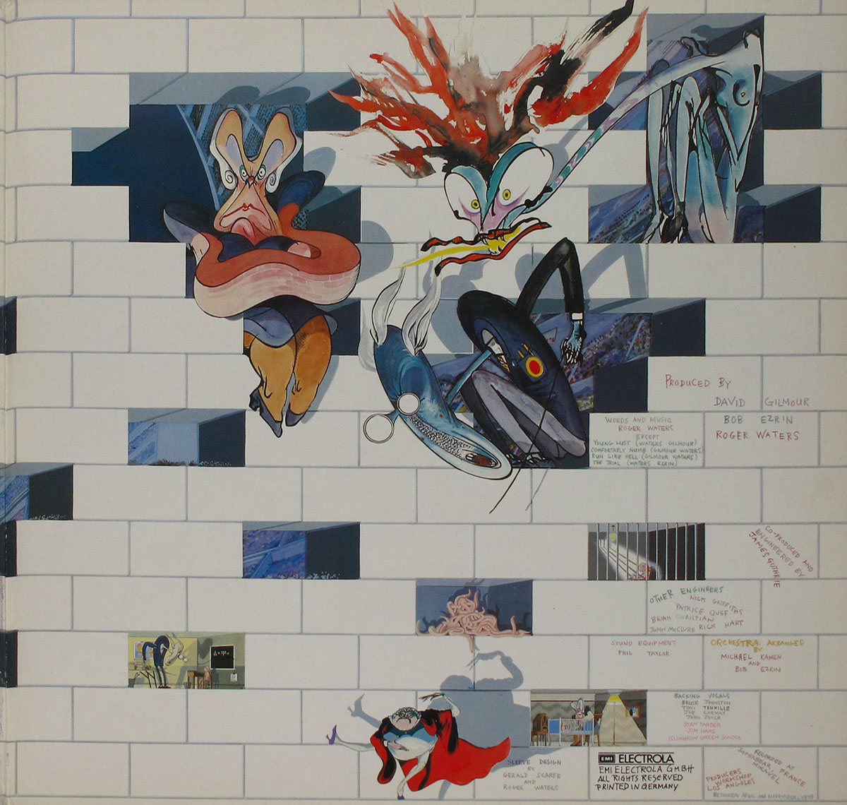 High Resolution Photo #3 PINK FLOYD Wall Germany